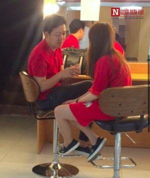 Trường Giang, Nhã Phương diện đồ đôi chạy show dịp Valentine