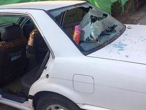 Bình cứu hỏa phát nổ do để ô tô ngoài trời nắng