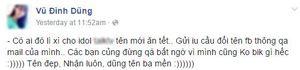 Xuất hiện nhân vật bí ẩn đang làm điên đảo Facebook-er Việt