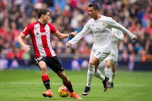 Ronaldo lập cú đúp, Real vươn lên thứ 2 sau Barca
