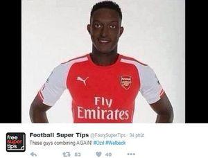 Hài hước với ảnh chế Welbeck sau bàn thắng quyết định cho Arsenal