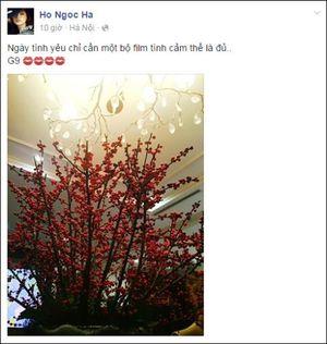 Muôn kiểu thổ lộ tình cảm của sao Việt ngày Valentine
