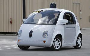 Xe tự lái của Google sẽ không cần dừng lại để nạp điện