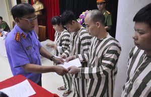 Hà Nội giảm thời gian phạt tù cho hơn 100 phạm nhân dịp 30.4