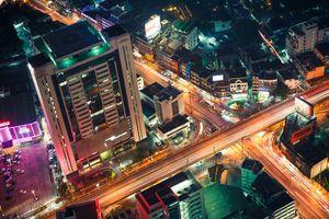 Choáng ngợp cảnh nhà cao tầng ở Bangkok nhìn từ trên cao