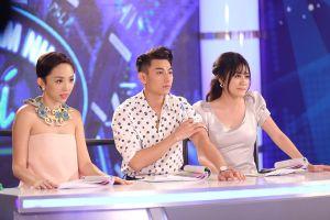 """Tóc Tiên và Văn Mai Hương cãi nhau """"chí chóe"""" trên ghế nóng VN Idol Kids"""