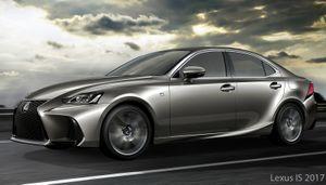 So sánh Lexus IS 2017 và phiên bản cũ