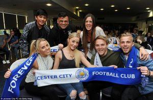Thành Leicester trắng đêm mừng chức vô địch Ngoại hạng Anh