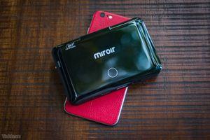 Trên tay máy chiếu mini Miroir MP150W: nhỏ gọn, tự cân chỉnh hình ảnh, rất dễ kết nối, giá 11 triệu