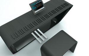 MPiano - bộ điều khiển piano kỹ thuật số dùng với iPad, tùy biến cảm giác phím như đàn thật