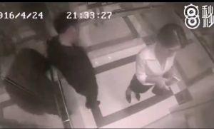 Sàm sỡ cô gái trong thang máy, yêu râu xanh bị đá trúng chỗ hiểm