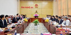 Hemaraj (Thái Lan) sẽ đầu tư xây dựng KCN, đô thị tại Nghệ An
