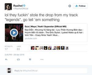 Tin nóng showbiz: Maya bị tố 'ăn cắp' nhạc, Trấn Thành nguy cơ bị phạt vì 'bôi bẩn' 'Tô Ánh Nguyệt'