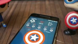 Trọn bộ theme điện thoại Android theo phong cách Civil War: Captain, Iron Man, Spider Man