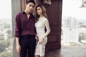 Vợ chồng Trương Quỳnh Anh hôn nhau say đắm như lúc mới yêu
