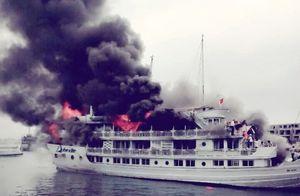 Tạm dừng hoạt động toàn bộ tàu sau vụ cháy tại Tuần Châu