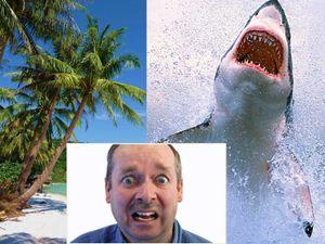 KỲ LẠ: Cá mập tấn công không nguy hiểm bằng… trái dừa