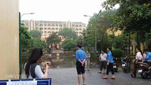 Trường đại học 'tê liệt' vì ngập nước