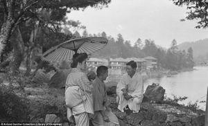 Những bức ảnh đen trắng hiếm hoi về Nhật Bản thời cuối phong kiến