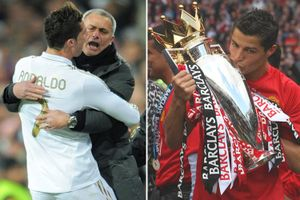 Ronaldo nói gì trước thông tin Mourinho dẫn dắt M.U?