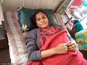 Mẹ 19 tuổi lập kỷ lục sinh con nặng cân nhất thế giới