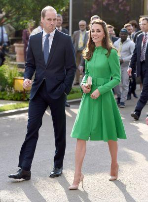 Công nương Kate xinh đẹp rạng rỡ ở lễ hội có loài hoa mang tên con gái mình