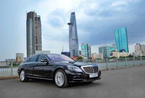 Cận cảnh Mercedes-Benz S500 L hộp số 9 cấp mới ra mắt Việt Nam