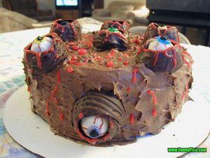 Khóc thét với những chiếc bánh ngọt không dành cho người yếu tim