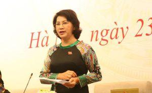 Chủ tịch Quốc hội trả lời các vấn đề liên quan đến Formosa