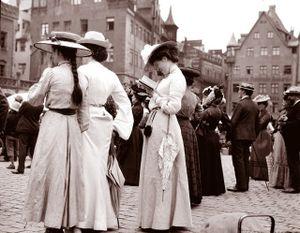 Loạt ảnh nét căng về nước Đức những năm 1900