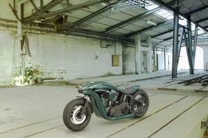 [Hình ảnh] Ý tưởng về một chiếc Harley Davidson tương lai