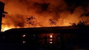 Hải Phòng: Cháy lớn tại công ty sản xuất nến thơm