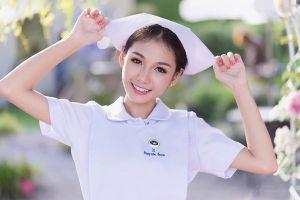 Cô y tá 9x xinh đẹp và quyến rũ nhất Thái Lan