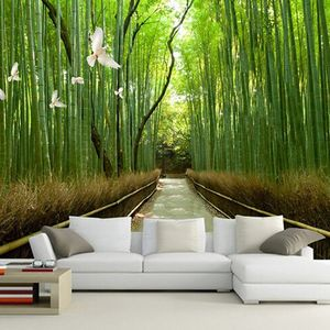 Sống giữa thiên nhiên nhờ giấy dán tường
