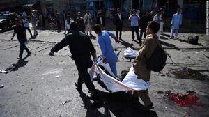 Hình ảnh đau thương vụ Afghanistan bị đánh bom, gần 300 người thương vong