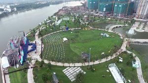 Khánh thành công viên ven sông lớn nhất Sài Gòn