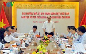 Bí thư Đinh La Thăng: Khoảng 600 Việt kiều hiến kế xây dựng TP HCM