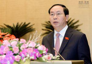 Ông Trần Đại Quang tiếp tục được giới thiệu bầu làm Chủ tịch nước