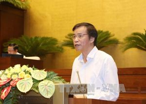 Thông qua Nghị quyết về cơ cấu tổ chức của Chính phủ