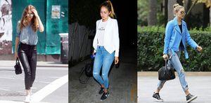 6 kiểu giày không bao giờ lỗi mốt trong tủ đồ của Gigi Hadid