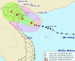 Tin mới nhất về cơn bão số 1: Cảnh báo ngập úng khu vực Hà Nội
