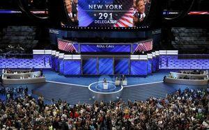 Bầu cử Mỹ: Hillary Clinton chính thức được Đảng Dân chủ đề cử