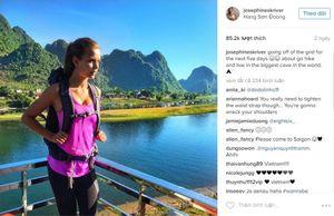 Thiên thần Victoria's Secret phấn khích chờ khám phá hang Sơn Đoòng