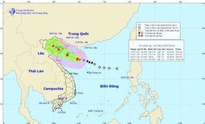 Tin bão khẩn cấp: Bão số 1, Vịnh Bắc bộ biển động mạnh
