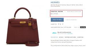 Chiếc túi có giá gần nửa tỷ đồng đáng thèm của Huyền My