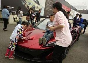 Đại gia tặng siêu xe 446 triệu cho con trai 4 tuổi ngày sinh nhật