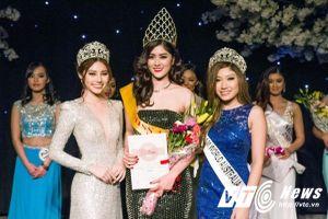 Hoa hậu Châu Á xinh đẹp sở hữu chiều cao 'khủng'