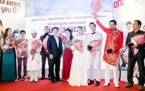 Lương Thế Thành đưa Thúy Diễm đến xem phim điện ảnh đầu tay