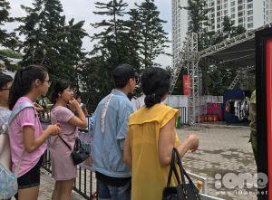 Vừa tái xuất, hội chợ container Hà thành lại đóng cửa gấp