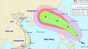 Áp thấp nhiệt đới mạnh dần có khả năng thành bão